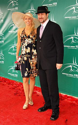 "<div class=""meta image-caption""><div class=""origin-logo origin-image kabc""><span>kabc</span></div><span class=""caption-text"">Joey Fatone and Kym Johnson arrive at the 133rd Kentucky Derby at Churchill Downs. (Brian Bohannon/AP)</span></div>"