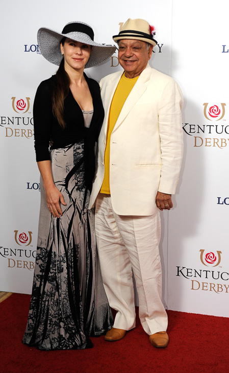 "<div class=""meta image-caption""><div class=""origin-logo origin-image kabc""><span>kabc</span></div><span class=""caption-text"">Cheech Marin at the Kentucky Derby. (Joe Imel/AP)</span></div>"