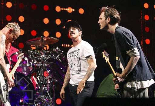 "<div class=""meta image-caption""><div class=""origin-logo origin-image ap""><span>AP</span></div><span class=""caption-text"">Anthony Kiedis, Flea, Chad Smith and Josh Klinghoffer with Red Hot Chili Peppers perform April 14, 2017, in Atlanta. (Photo by Robb Cohen/Invision/AP) (Robb Cohen/Invision/AP)</span></div>"