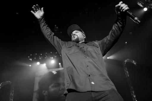"<div class=""meta image-caption""><div class=""origin-logo origin-image ap""><span>AP</span></div><span class=""caption-text"">Ice Cube performs at Power 106's 2016 Cali Christmas held at The Forum on Friday, Dec. 2, 2016, in Los Angeles. (Photo by John Salangsang/Invision/AP) (John Salangsang/Invision/AP)</span></div>"