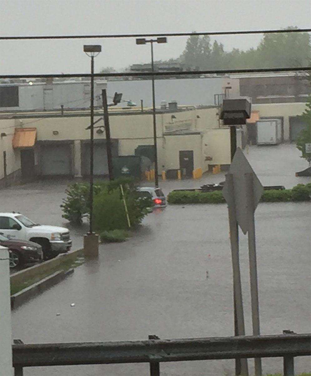 <div class='meta'><div class='origin-logo' data-origin='none'></div><span class='caption-text' data-credit='WABC Photo/Anthony Johnson'>Parking lot flooding in Hackensack, New Jersey</span></div>