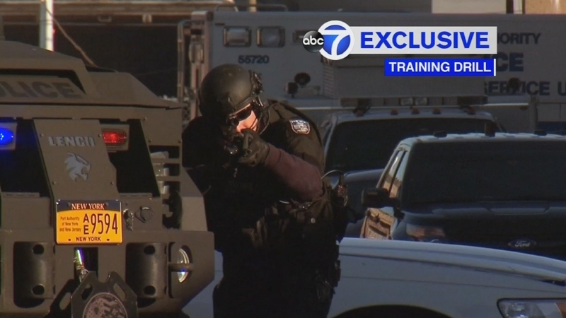 EXCLUSIVE: A look inside Port Authority Police training facility