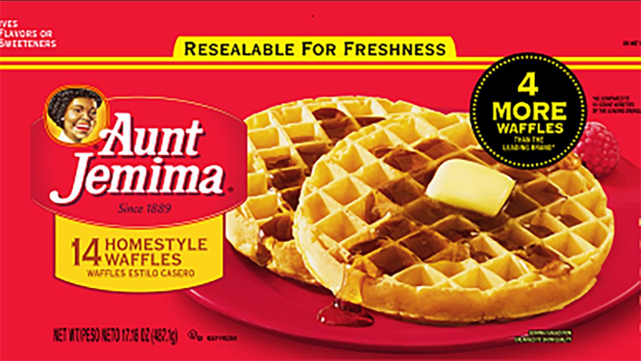 Aunt Jemima Homestyle Waffles