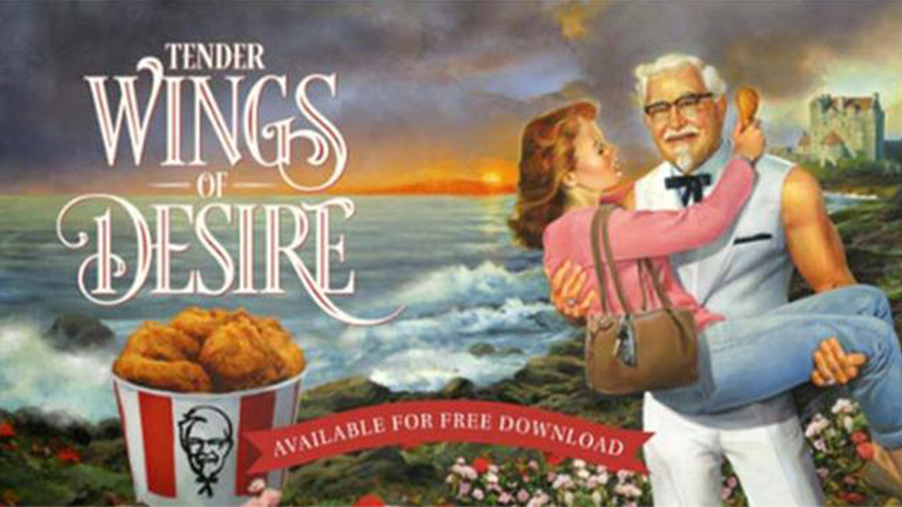 KFC releases romance novel for Mother's Day