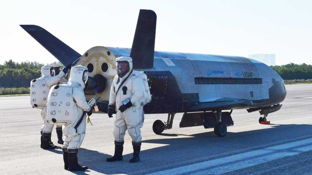 Air Force's unmanned aircraft, X-37B