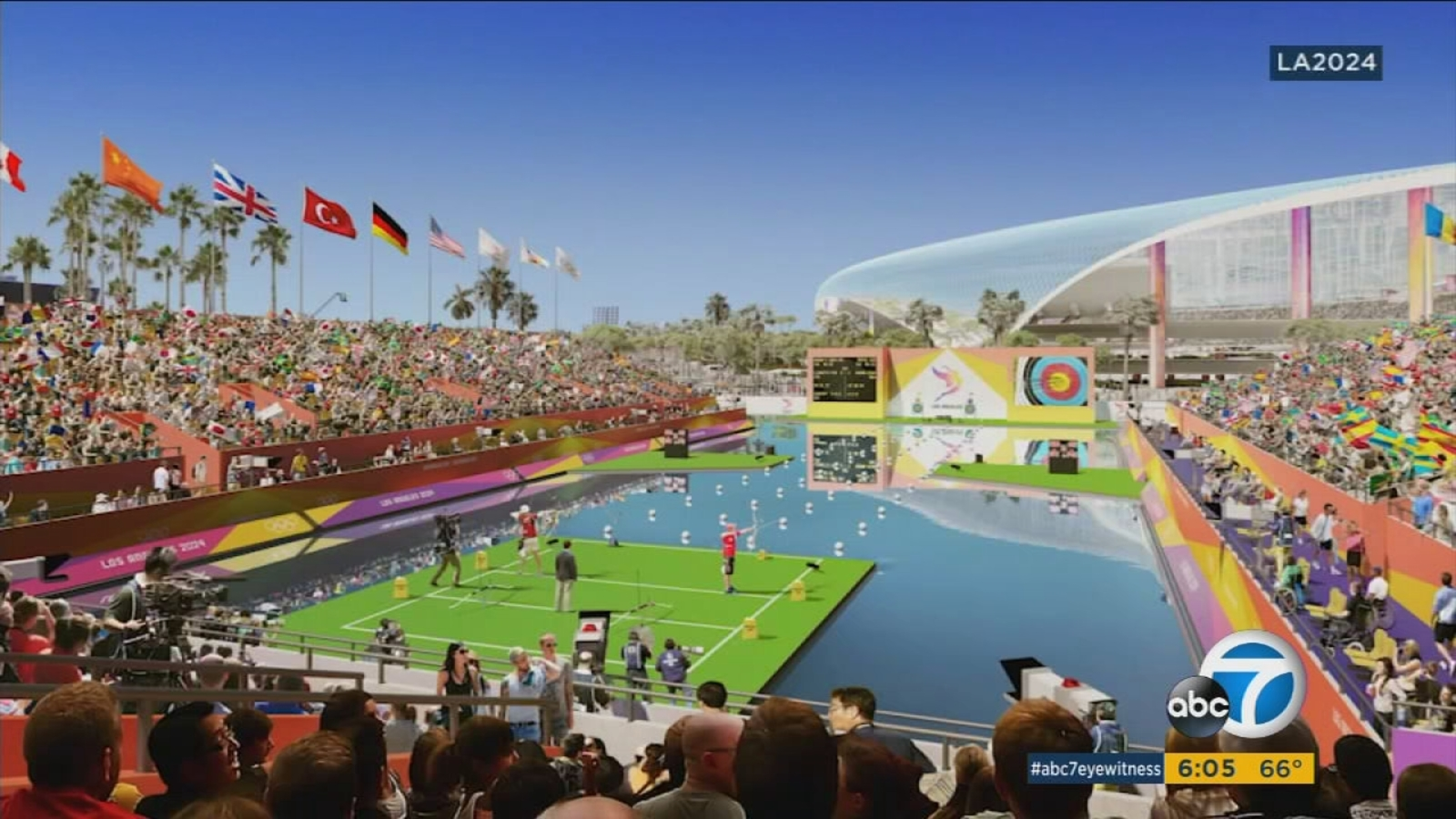 LA 20 releases renderings of proposed Olympic venues   ABC20 Los ...