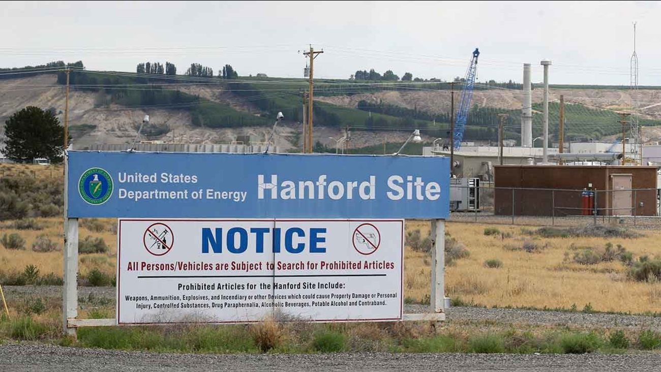 Hanford Nuclear Reservation in southeastern Washington state