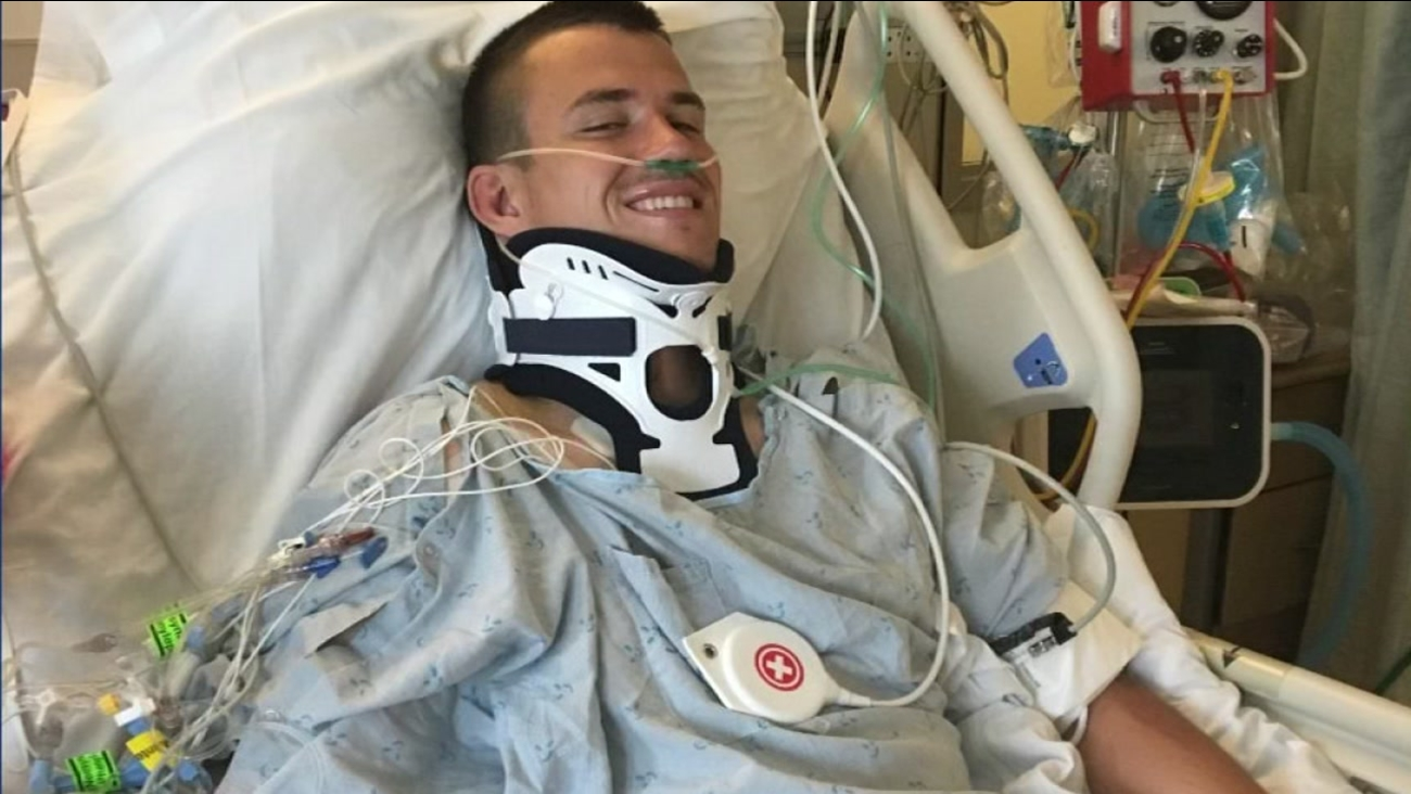 Cal student Robert Paylor was left paralyzed after falling on his head during a rugby game.