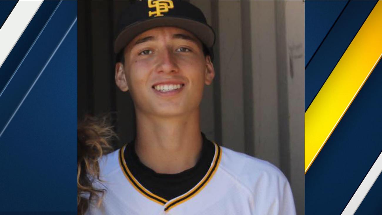 Evan Jimenez, 15, is shown in an undated photo in his baseball uniform.