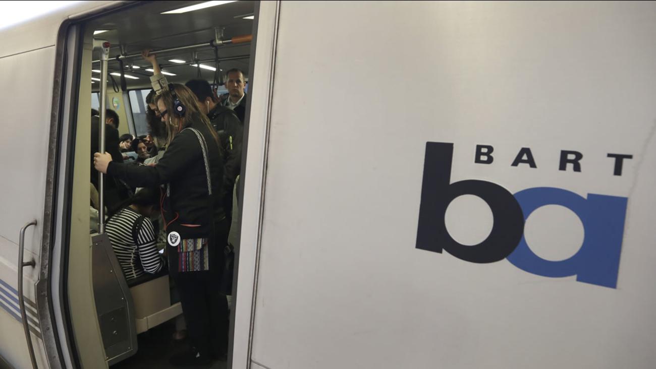 BART train.