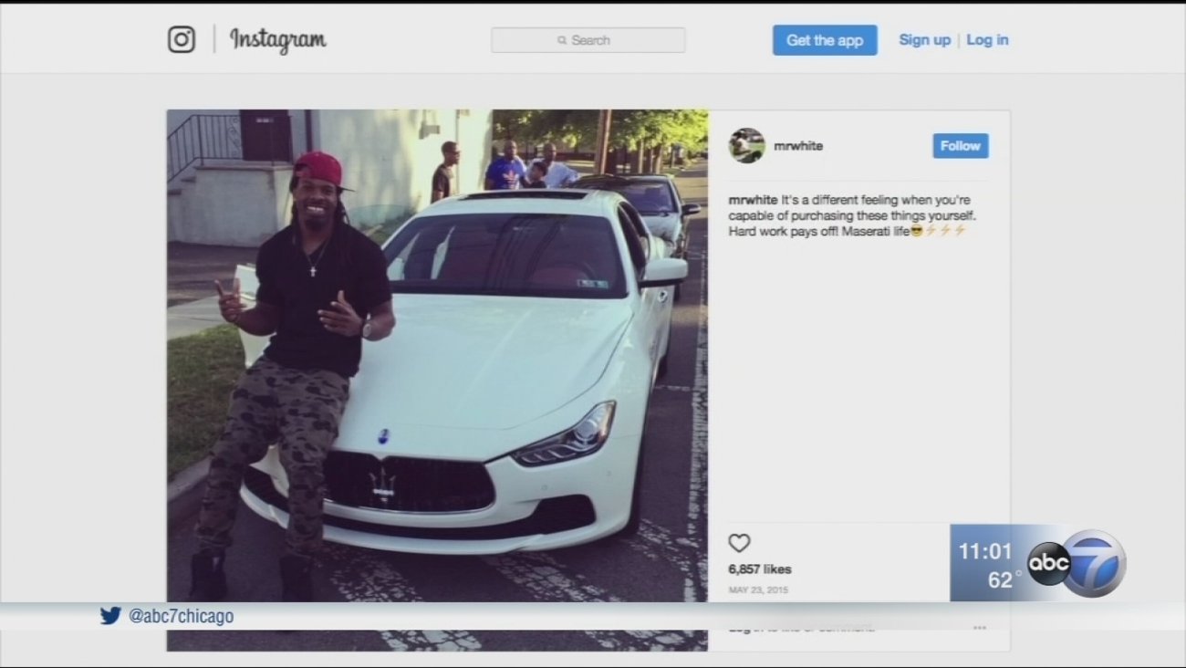 Maserati stolen in bump and run