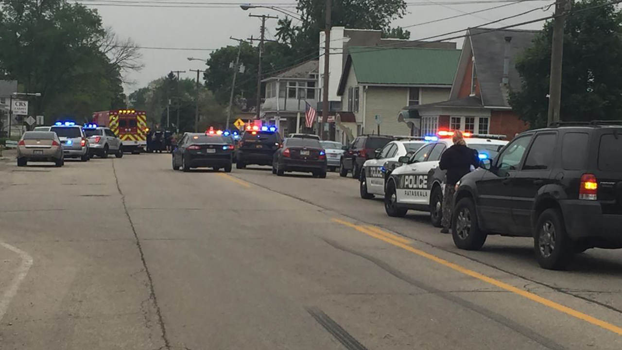 Law enforcement outside of the nursing home in Ohio