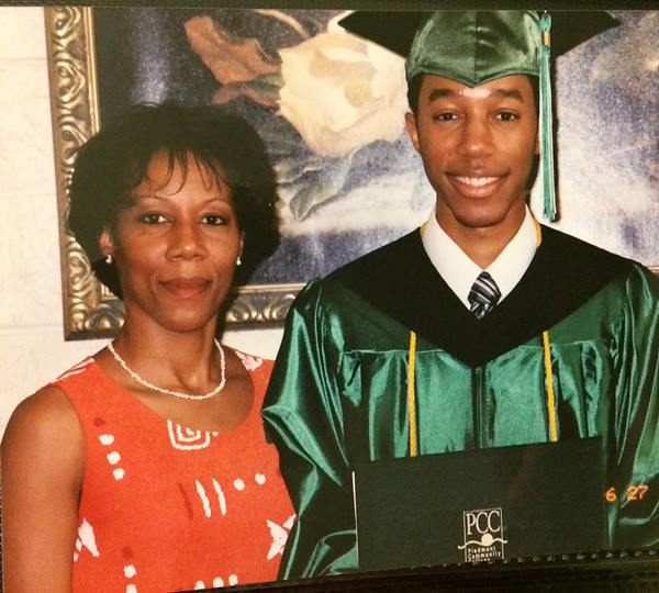 "<div class=""meta image-caption""><div class=""origin-logo origin-image none""><span>none</span></div><span class=""caption-text"">Tim Pulliam and his mother</span></div>"
