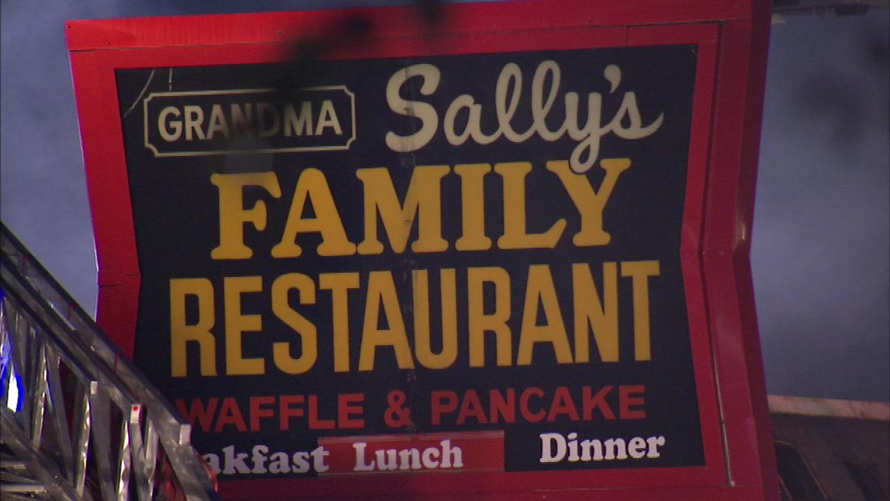 Fire Destroys Original Grandma Sallys Family Restaurant In