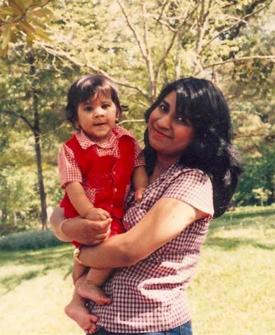 <div class='meta'><div class='origin-logo' data-origin='none'></div><span class='caption-text' data-credit=''>ABC13 reporter Pooja Lodhia with her mother</span></div>