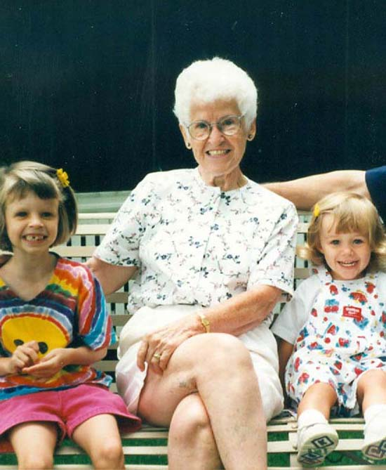 <div class='meta'><div class='origin-logo' data-origin='none'></div><span class='caption-text' data-credit=''>ABC13 anchor Tom Koch's mother with his daughters</span></div>