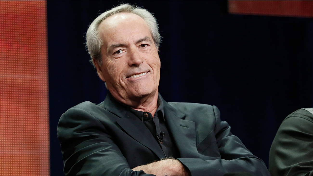 """Actor Powers Boothe, attending a panel for the show """"Nashville"""" on July 27, 2012 in Beverly Hills."""