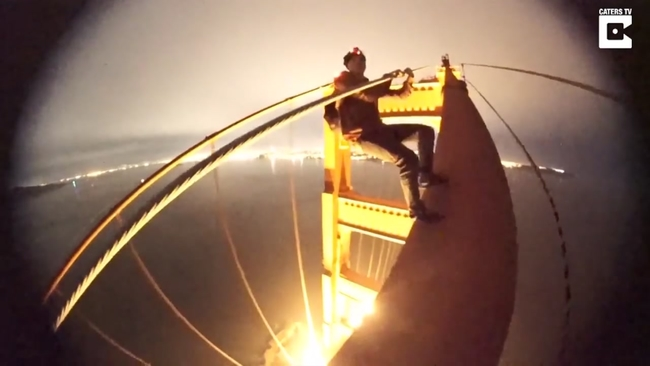 The Marin County District Attorney Charges Bridge Climbing