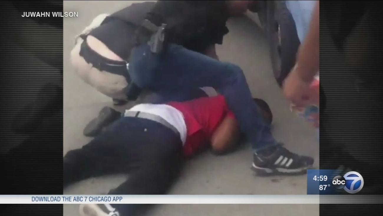 Police accused of excessive force in West Englewood arrest