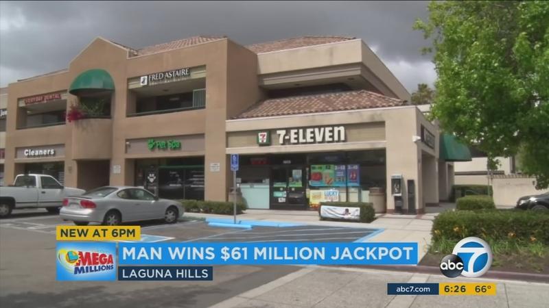 OC man wins $61M Mega Millions jackpot