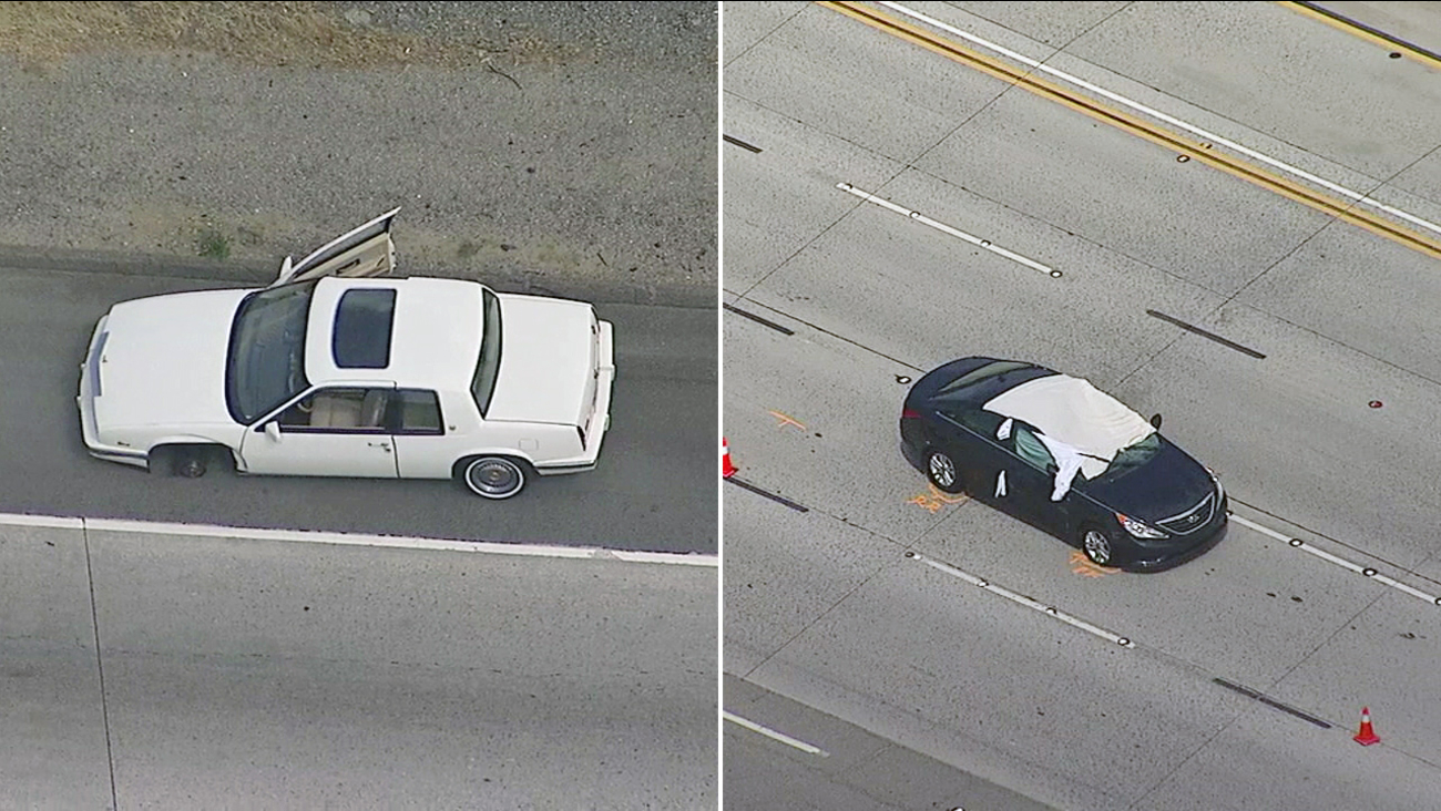 1 Killed In Santa Clarita After Tire Smashes Through Windshield On 14 Freeway