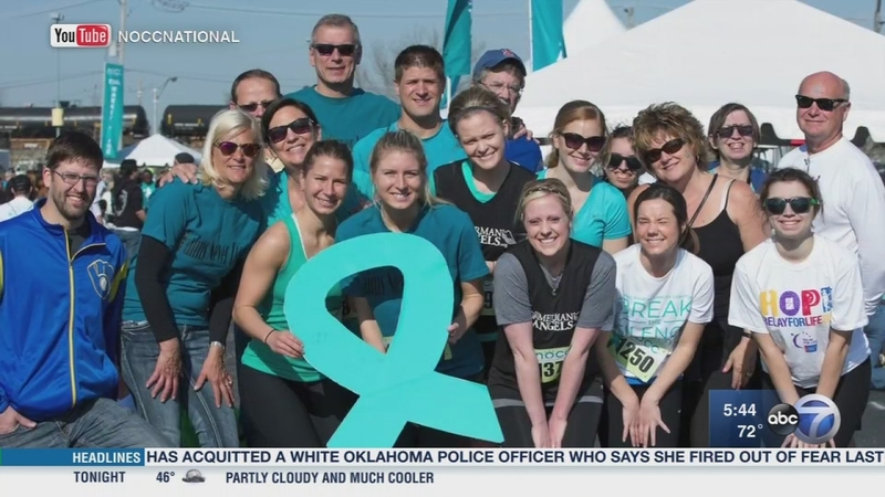 National Ovarian Cancer Coalition Illinois Chapter Hosts 20th Annual Run Walk Abc7 Chicago