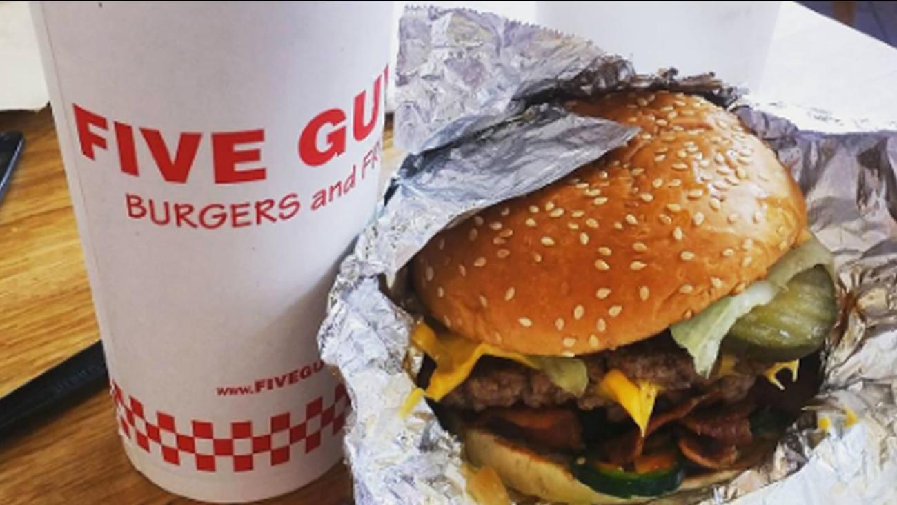 image courtesy Five Guys Burgers
