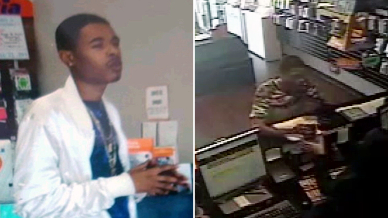 LAPD said a suspect was wanted for cellphone thefts in Winnetka and Oxnard on Tuesday, May 16, 2017.