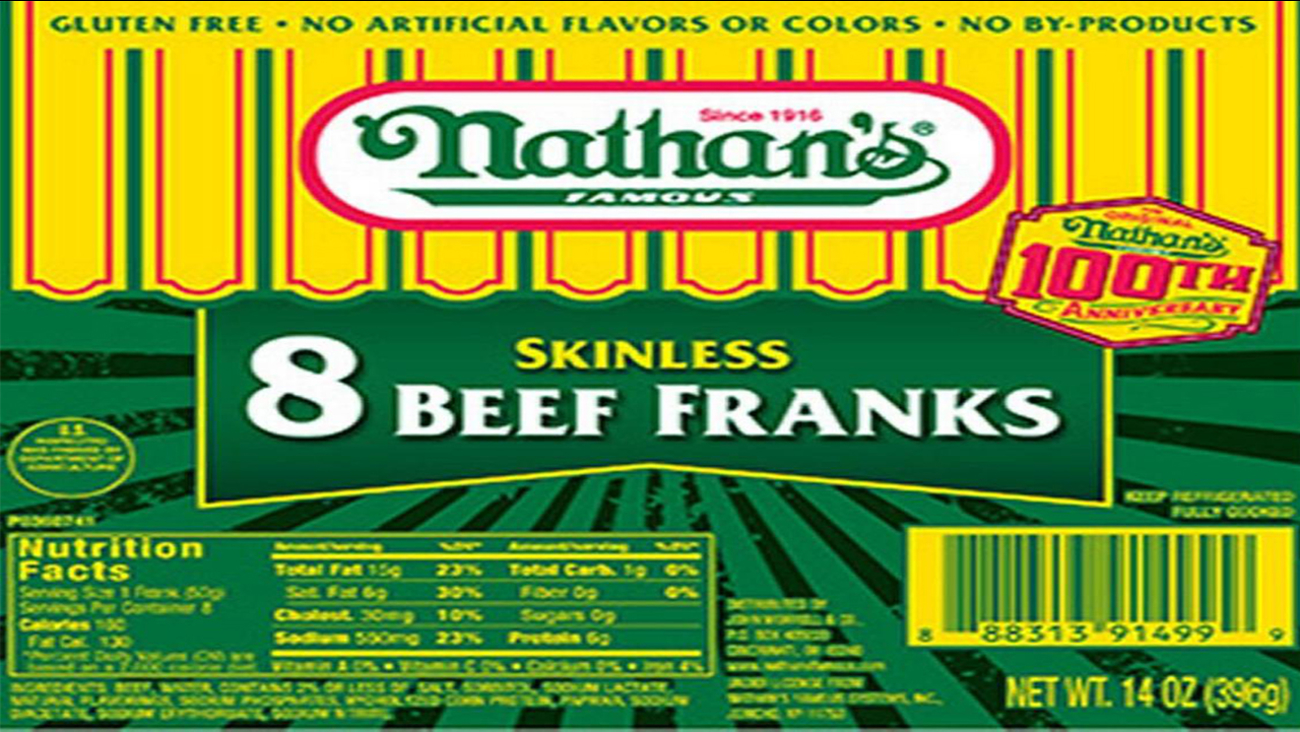 Nathan's, Curtis hot dogs recalled after 'metal objects' found inside
