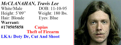 <div class='meta'><div class='origin-logo' data-origin='none'></div><span class='caption-text' data-credit='Multi-County Crime Stoppers'>Travis Lee McClanahan</span></div>