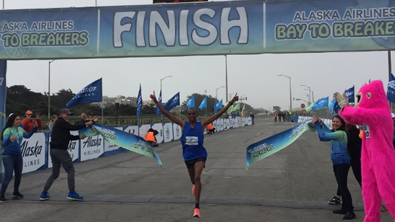<div class='meta'><div class='origin-logo' data-origin='none'></div><span class='caption-text' data-credit='Bay to Breakers'>Philemon Cheboi wins Bay to Breakers race for men finishing in 34:48 at the 106th annual Bay to Breakers on Sunday, May 21, 2017.</span></div>