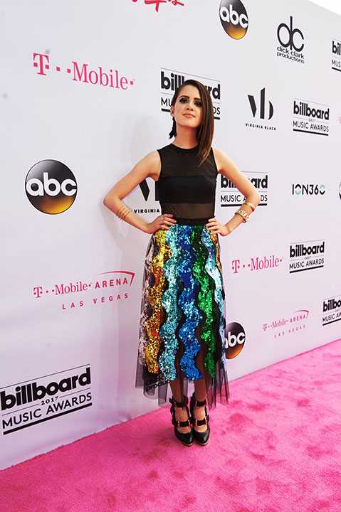 "<div class=""meta image-caption""><div class=""origin-logo origin-image none""><span>none</span></div><span class=""caption-text"">Laura Marano arrives at the Billboard Music Awards. (Courtesy of the Billboard Music Awards)</span></div>"