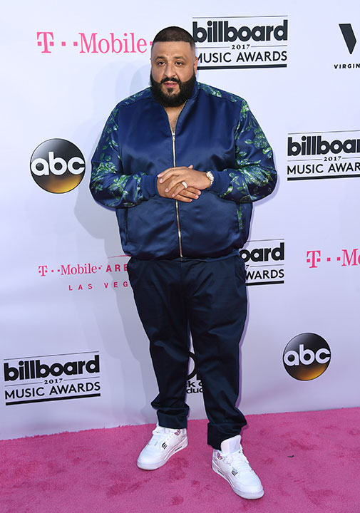"<div class=""meta image-caption""><div class=""origin-logo origin-image none""><span>none</span></div><span class=""caption-text"">DJ Khaled arrives at the Billboard Music Awards at the T-Mobile Arena on Sunday, May 21, 2017, in Las Vegas. (Richard Shotwell/Invision/AP)</span></div>"