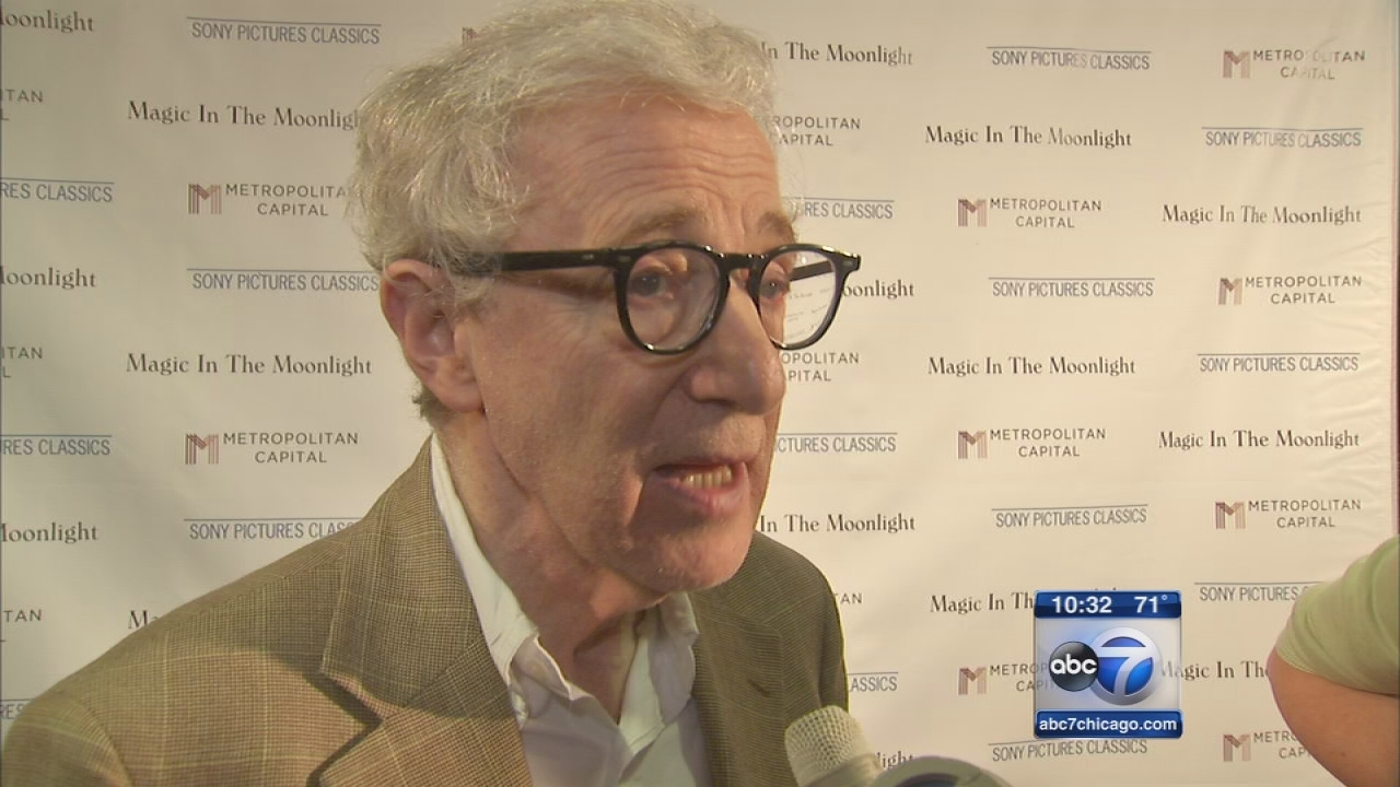 Woody Allen makes rare Chicago appearance