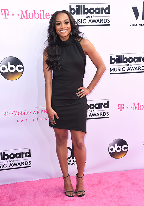 "<div class=""meta image-caption""><div class=""origin-logo origin-image none""><span>none</span></div><span class=""caption-text"">Rachel Lindsay arrives at the Billboard Music Awards at the T-Mobile Arena on Sunday, May 21, 2017, in Las Vegas. (Richard Shotwell/Invision/AP)</span></div>"