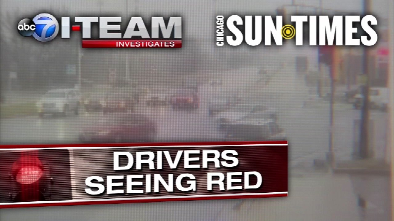 Wrong On Red? Red Light Cameras Rake In Revenue For Suburbs |  Abc7chicago.com