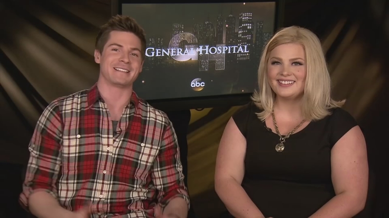 Stars Robert Palmer Watkins And Risa Dorken Talk About General Hospital S Nurses Ball Abc7 Los Angeles