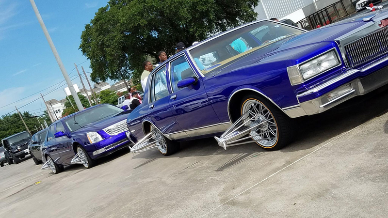 slab car culture and music connected to houston