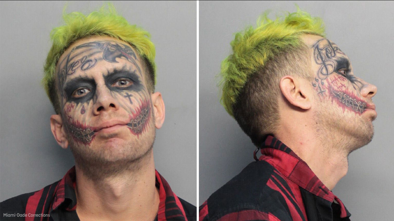 Image of joker inmate