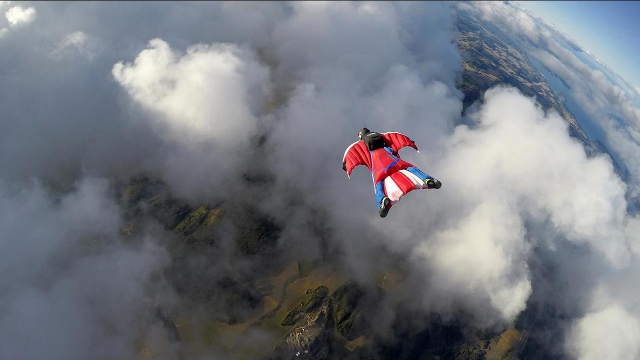 FILE - Wingsuit