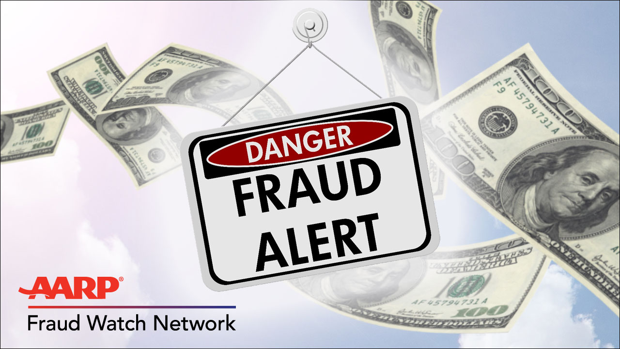 AARP Fraud Watch Graphic