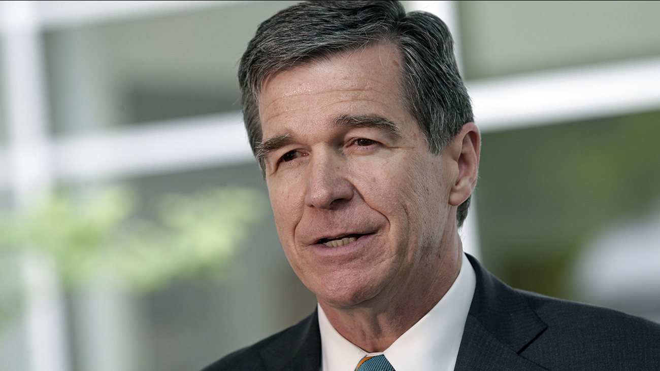Gov. Roy Cooper generic image May 9, 2017