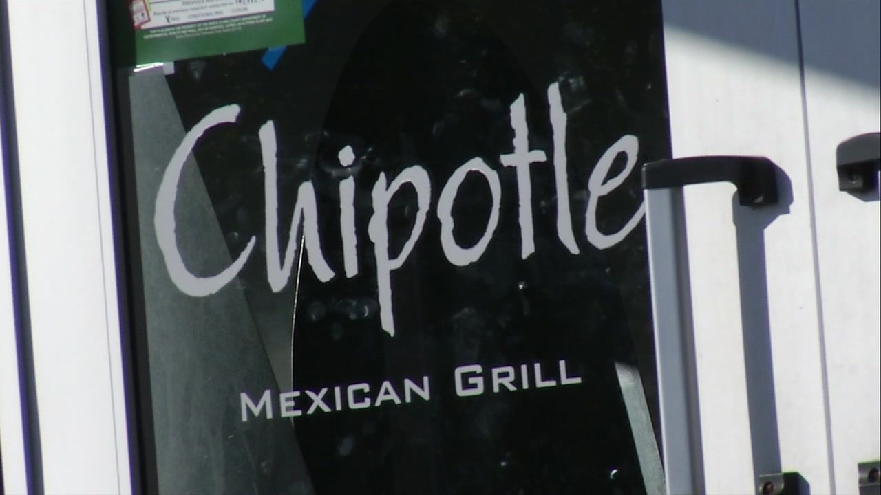 A Chipotle sign is seen in San Jose, Calif. on May 26, 2017.