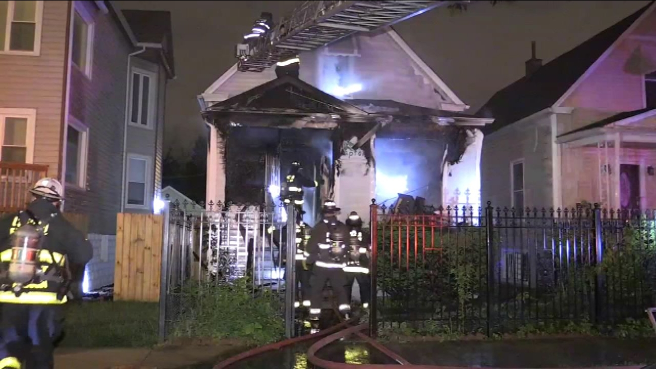 Albany Park fire