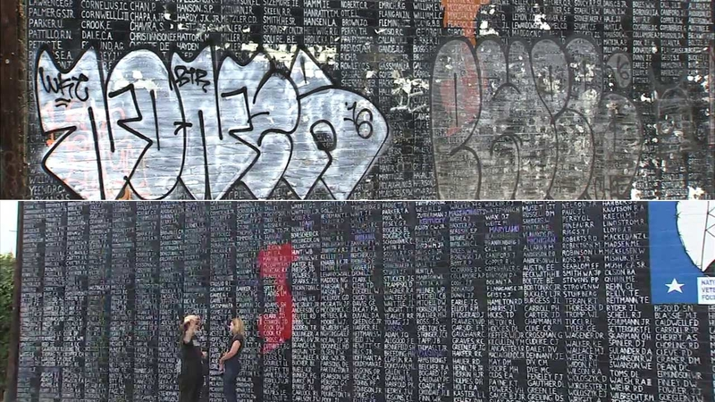 Vietnam War Memorial In Venice Reopens After Restoration Abc7 Los Angeles