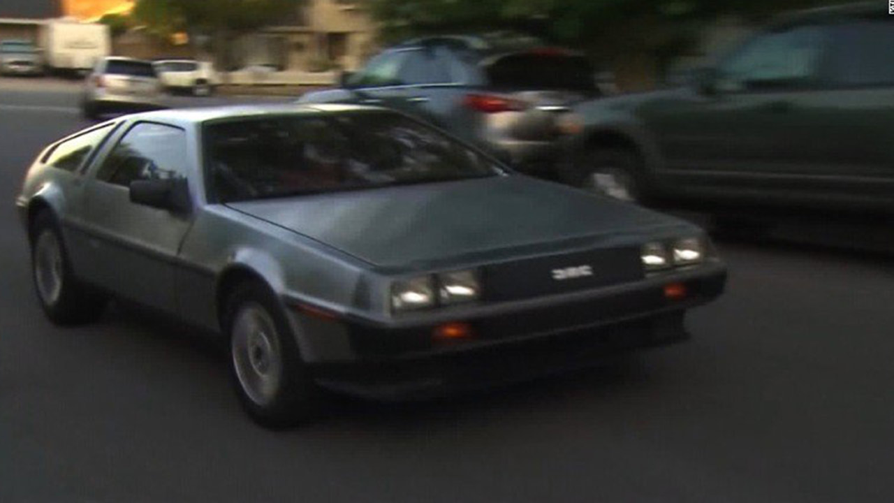 DeLorean speeding ticket