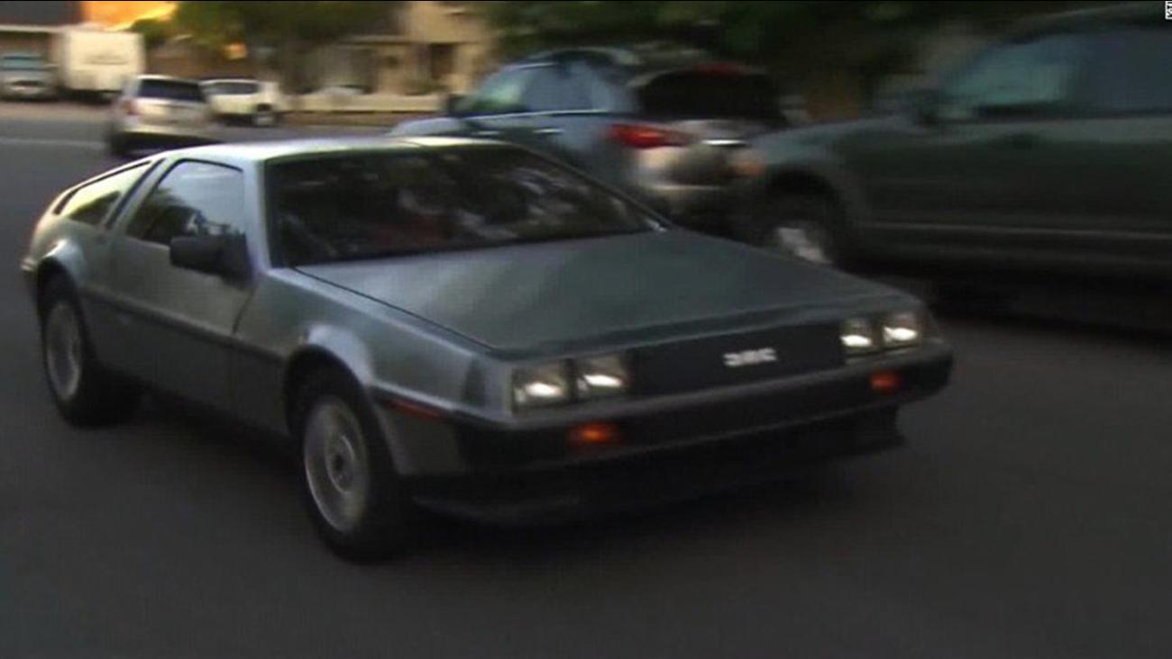 DeLorean speeding ticket