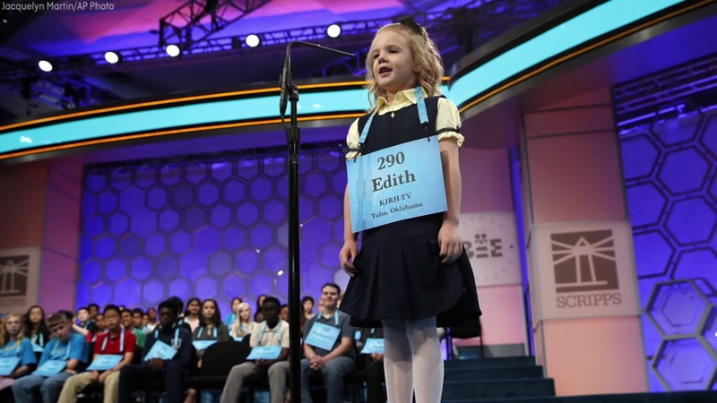 Six-year-old girl youngest to compete at the Scripps National