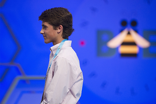 "<div class=""meta image-caption""><div class=""origin-logo origin-image ap""><span>AP</span></div><span class=""caption-text"">Zachary Hoelscher, 14, from Lorena, Texas, walks offstage after misspelling his wordduring the 90th Scripps National Spelling Bee in Oxon Hill, Md., Wednesday, May 31, 2017. (AP Photo/Cliff Owen)</span></div>"
