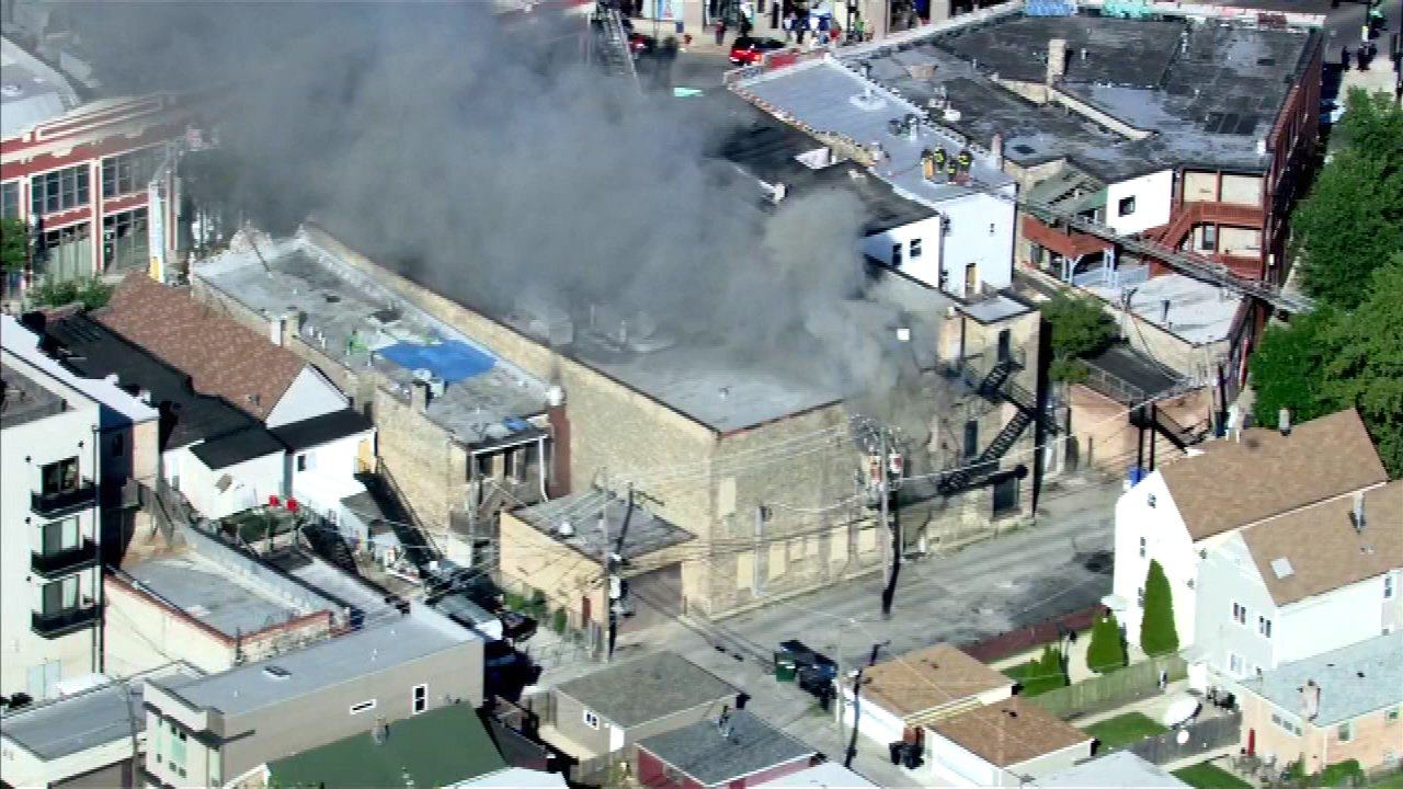 Extra-alarm fire destroys Northwest Side furniture store